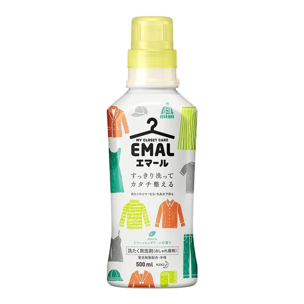 花王 エマール リフレッシュグリーンの香り 本体 500ml