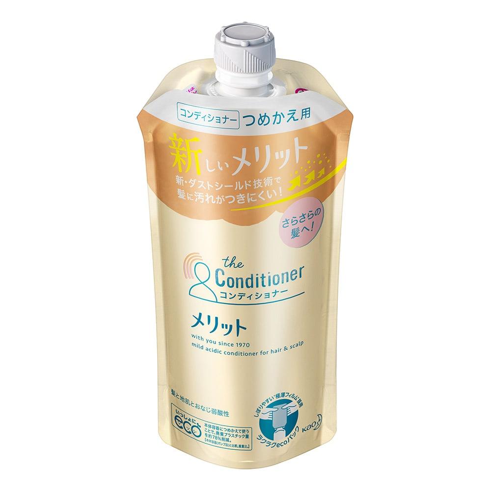 花王 メリット コンディショナー 詰替 340ml