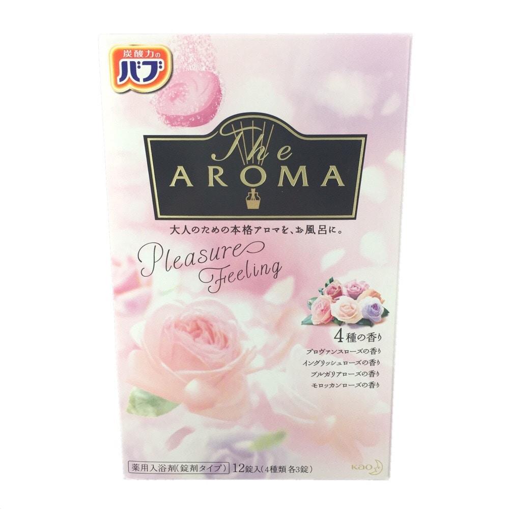 花王 バブ The AROMA Pleasure Feeling 12錠入