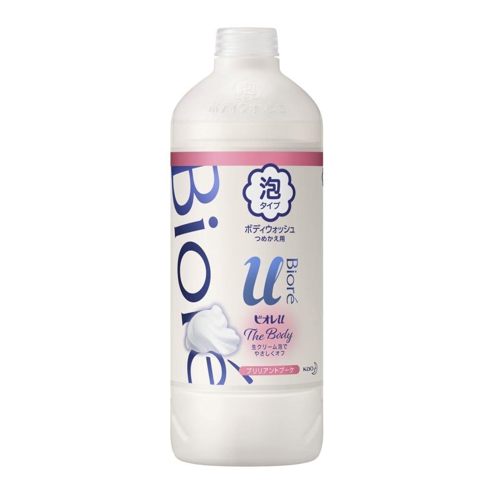 花王 ビオレu ザ ボディ 泡タイプ ブリリアントブーケの香り 詰替 450ml