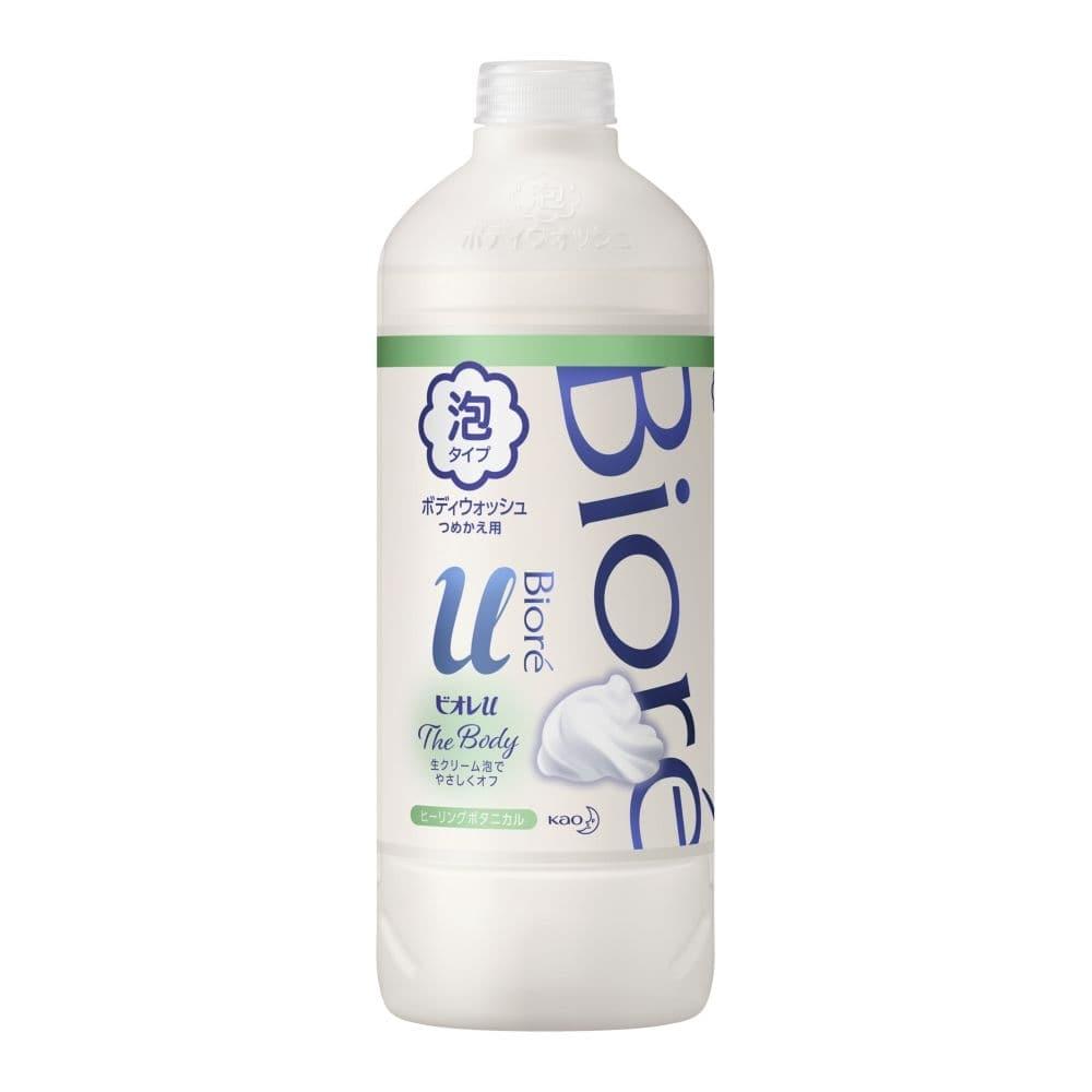 花王 ビオレu ザ ボディ 泡タイプ ヒーリングボタニカルの香り 詰替 450ml