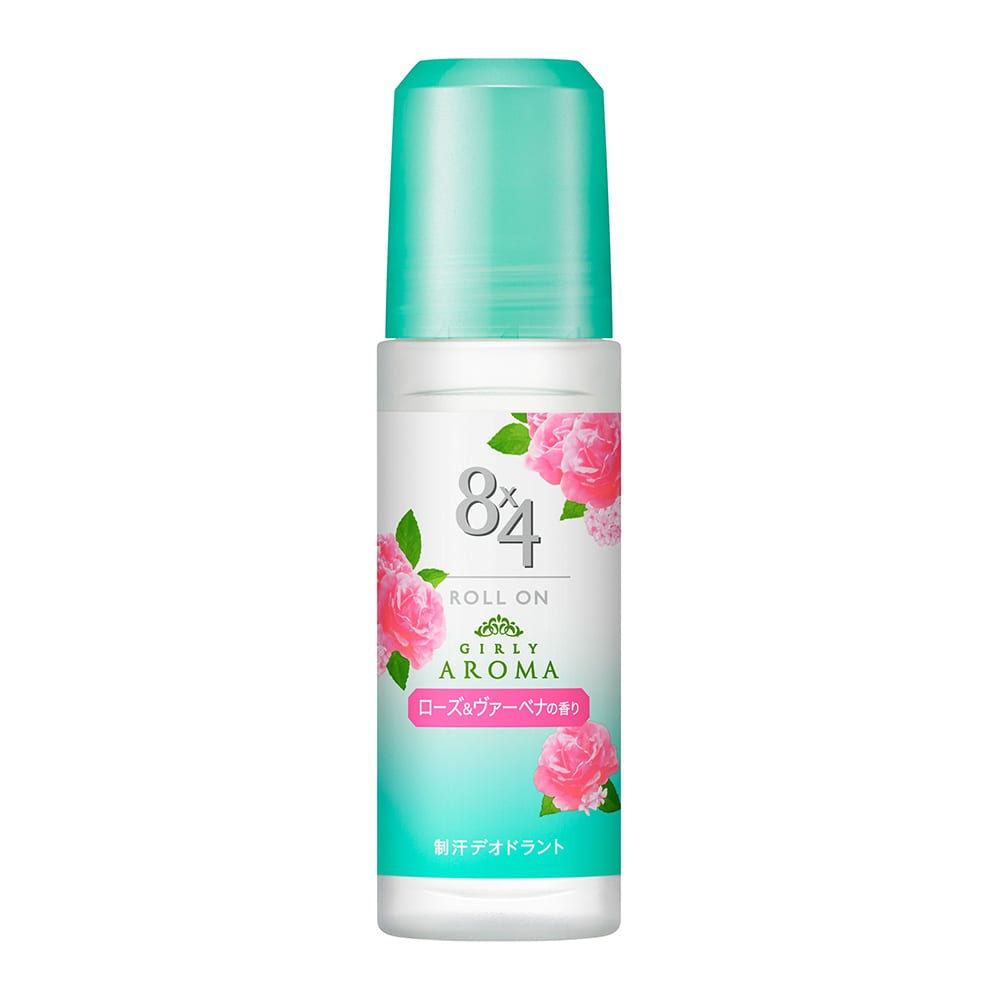 花王 8×4 ロールオン ローズ&ヴァーベナの香り 45ml