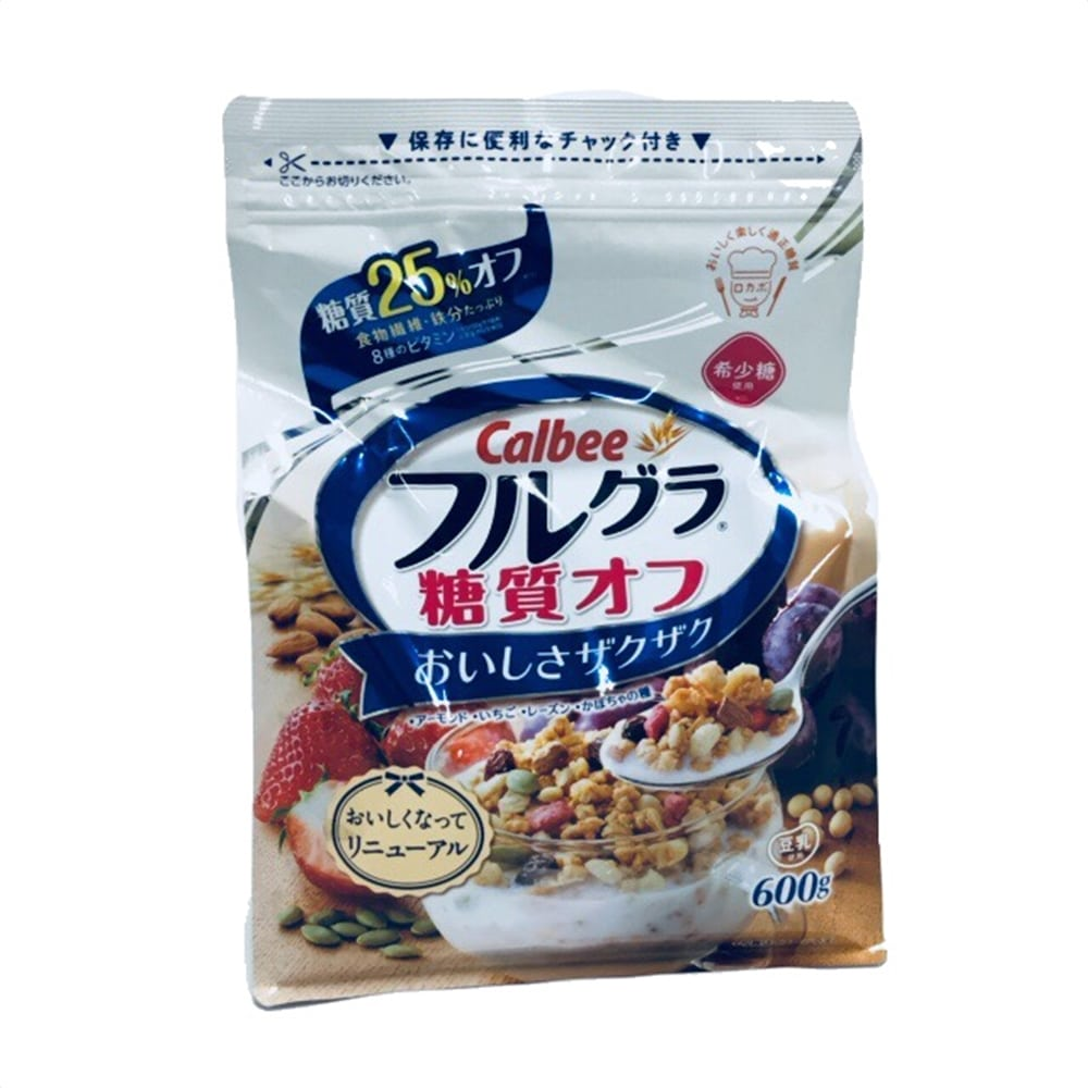 カルビー フルグラ糖質オフ 600g 1袋