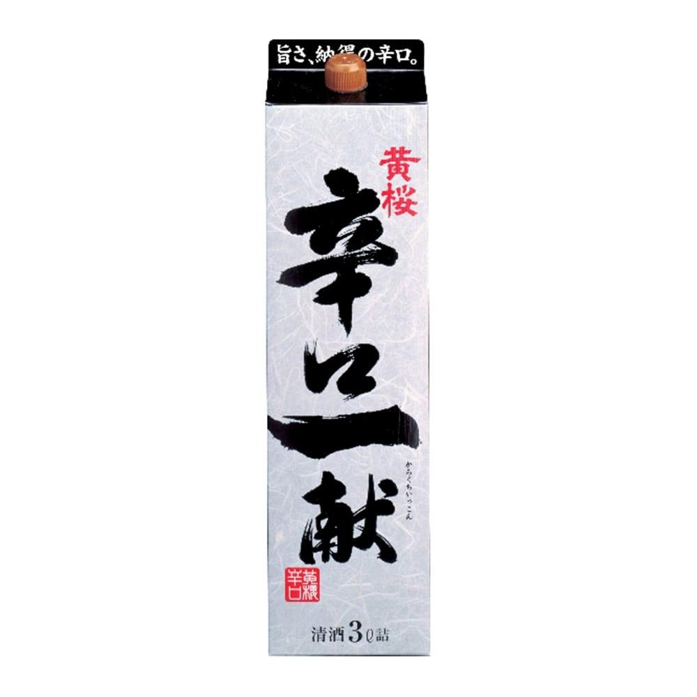 黄桜 辛口一献 パック 3L