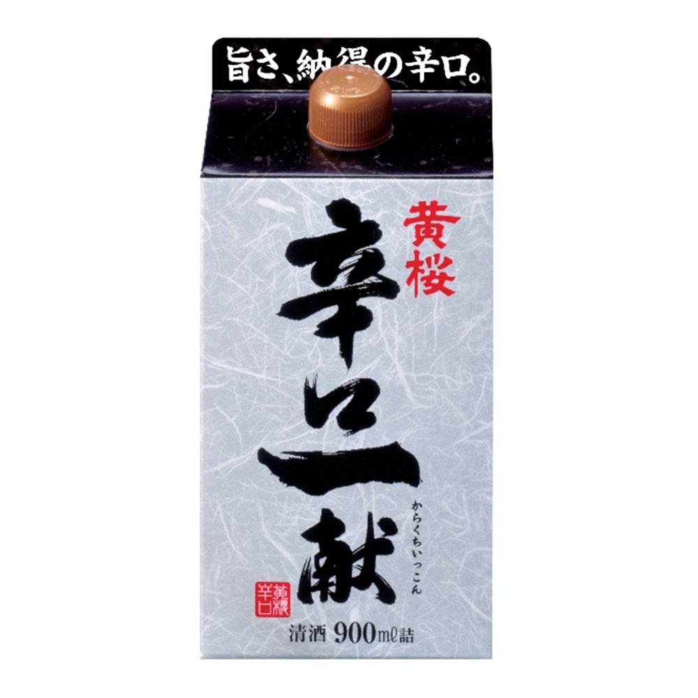 黄桜 辛口一献 パック 900ml