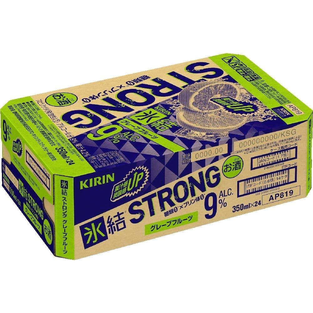 氷結 ストロング グレープフルーツ 缶350ml×24