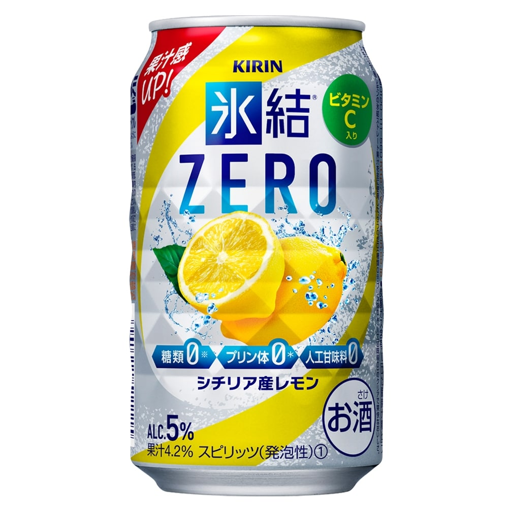 氷結ZERO シチリア産レモン 350ml×24