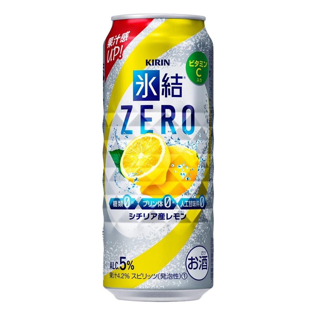 氷結 ZERO シチリア産レモン 500ml×24