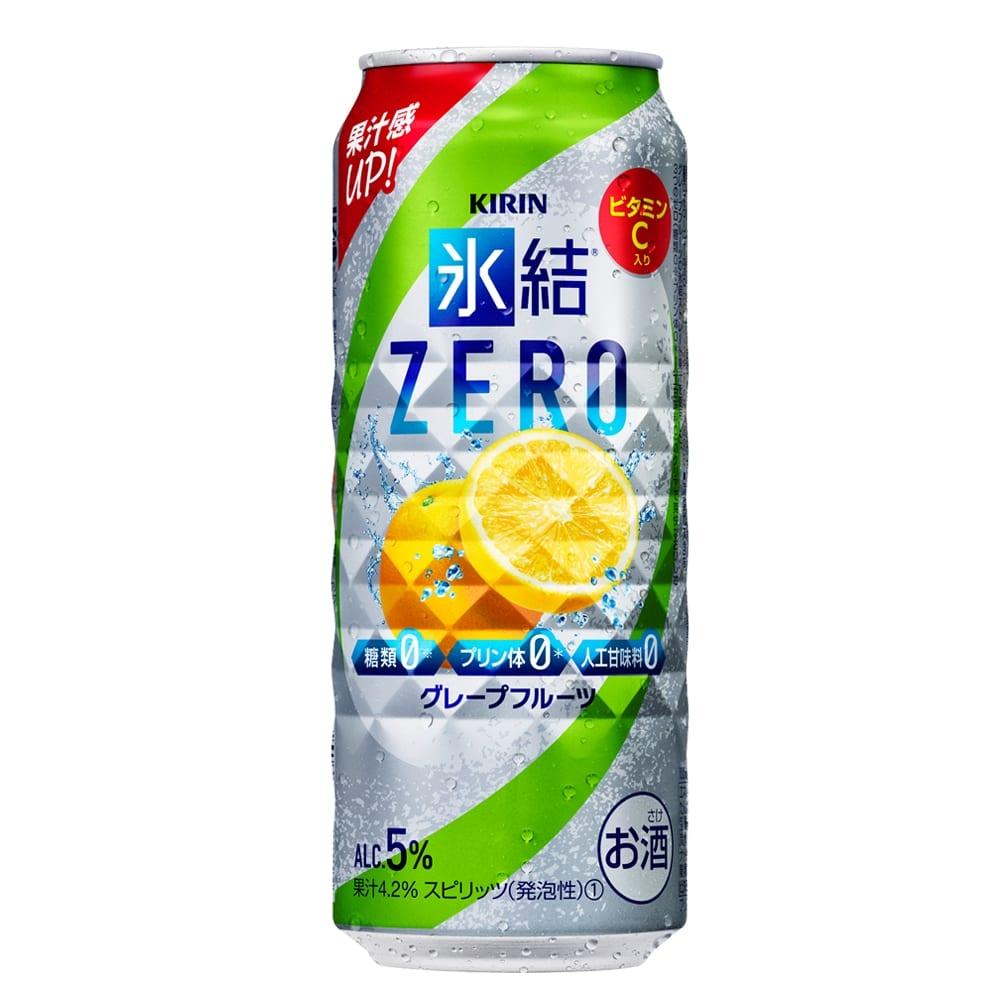 氷結ZERO グレープフルーツ 500ml×24