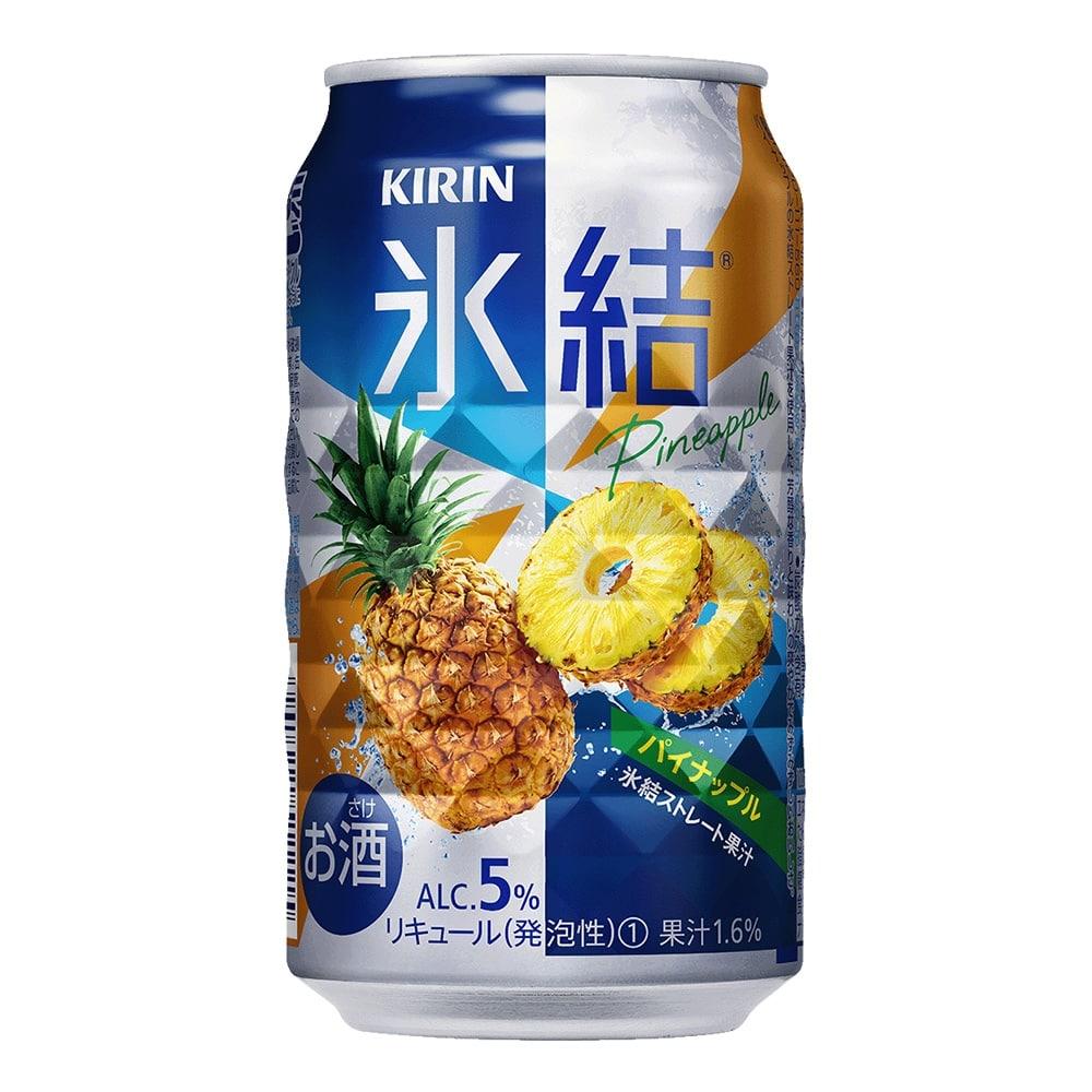 【ケース販売】キリン 氷結 パイナップル 350ml×24本【別送品】