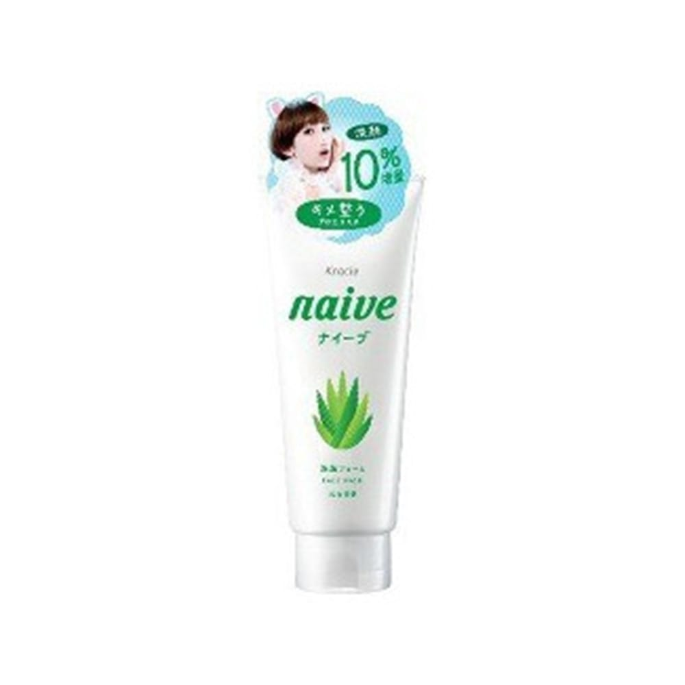 ナイーブ 洗顔フォーム アロエエキス 10%増量(143g)