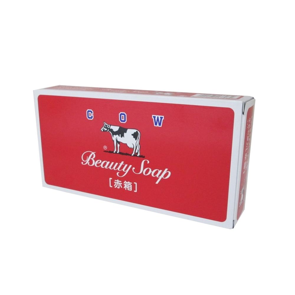 箱 赤 牛乳 石鹸