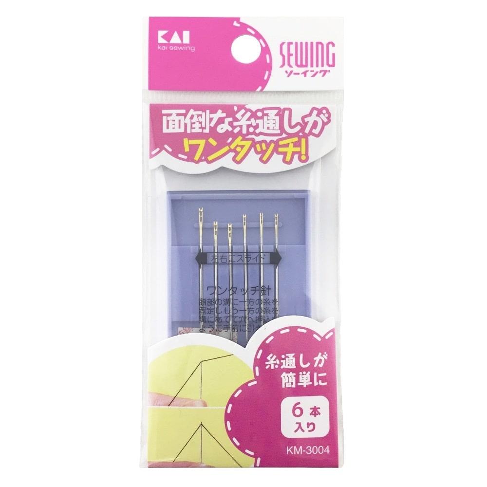 貝印 KM3004 ワンタッチ針セット(6本)