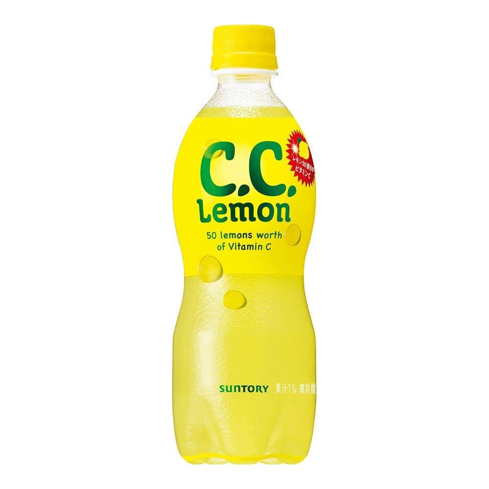 CCレモン ペット 500ml×24
