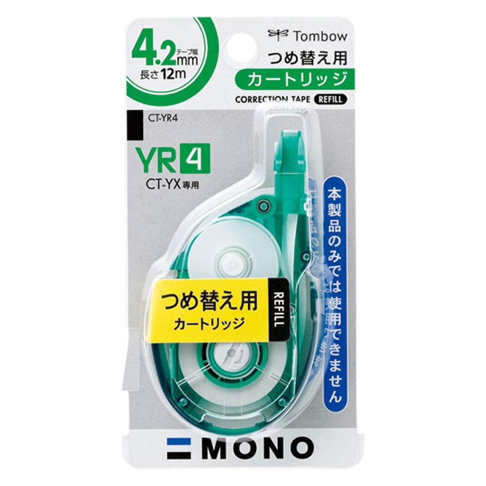 トンボ 修正テープ つめ替えカートリッジ 4CT-Y