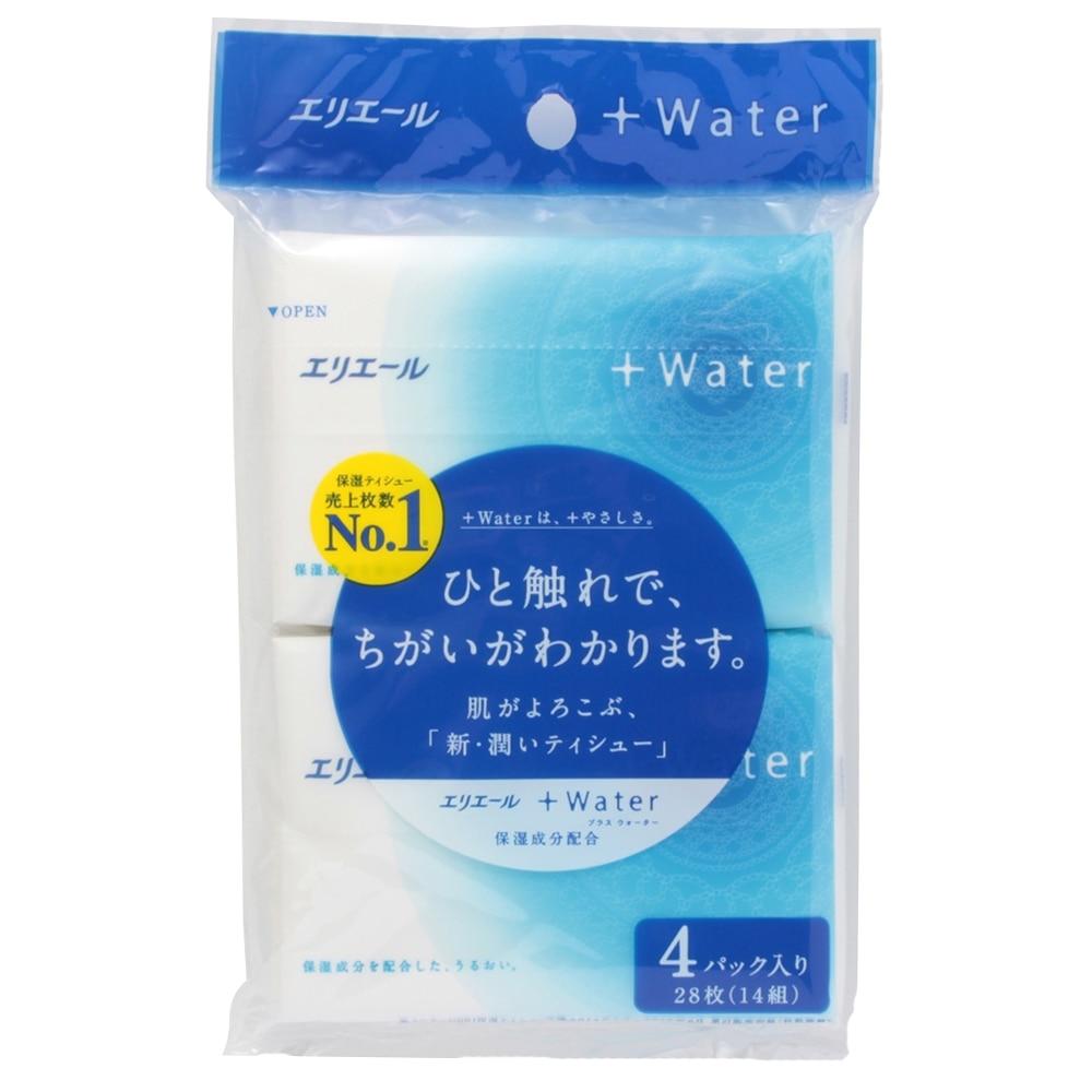 エリエール +Waterポケット 14W4P
