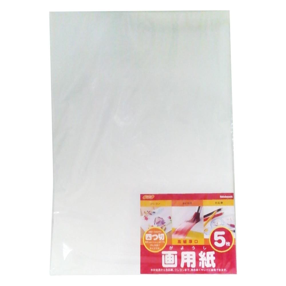ナカバヤシ 画用紙 四ツ切 5枚束 SD-カー102 10個