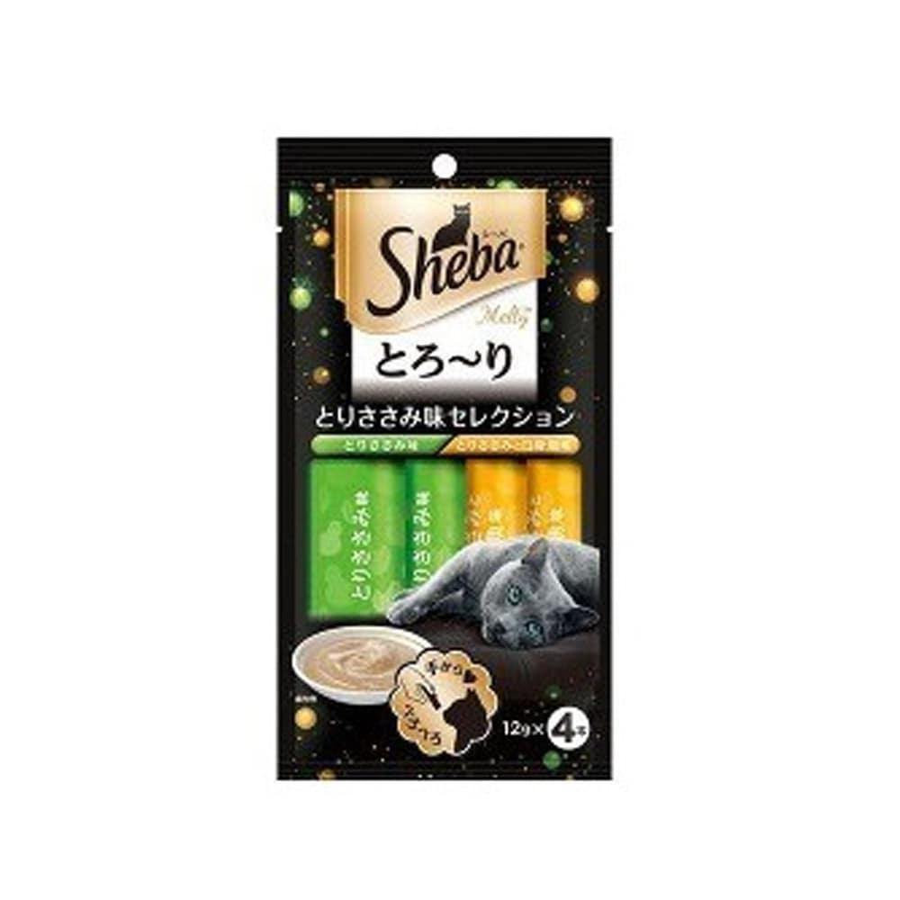 シーバとろ〜りとりささみ味セレクション12g×4P
