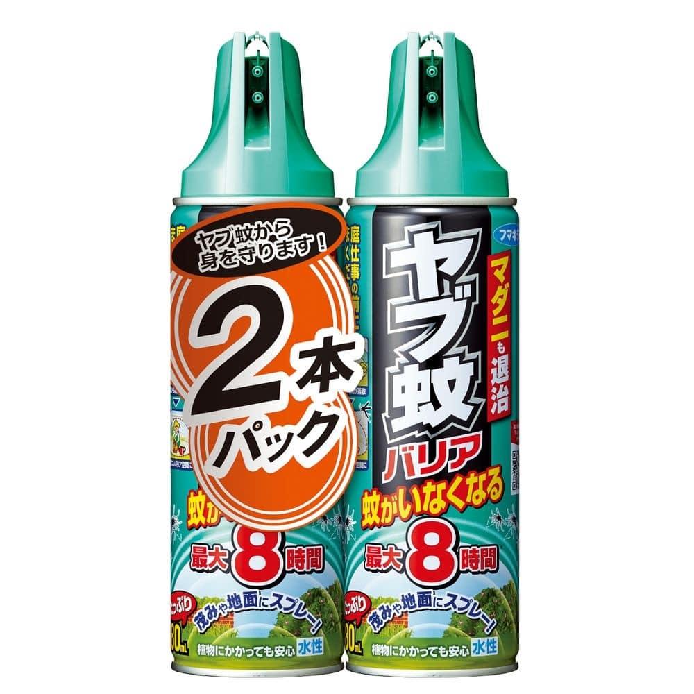 【数量限定】フマキラー ヤブ蚊バリア 480ml×2本パック