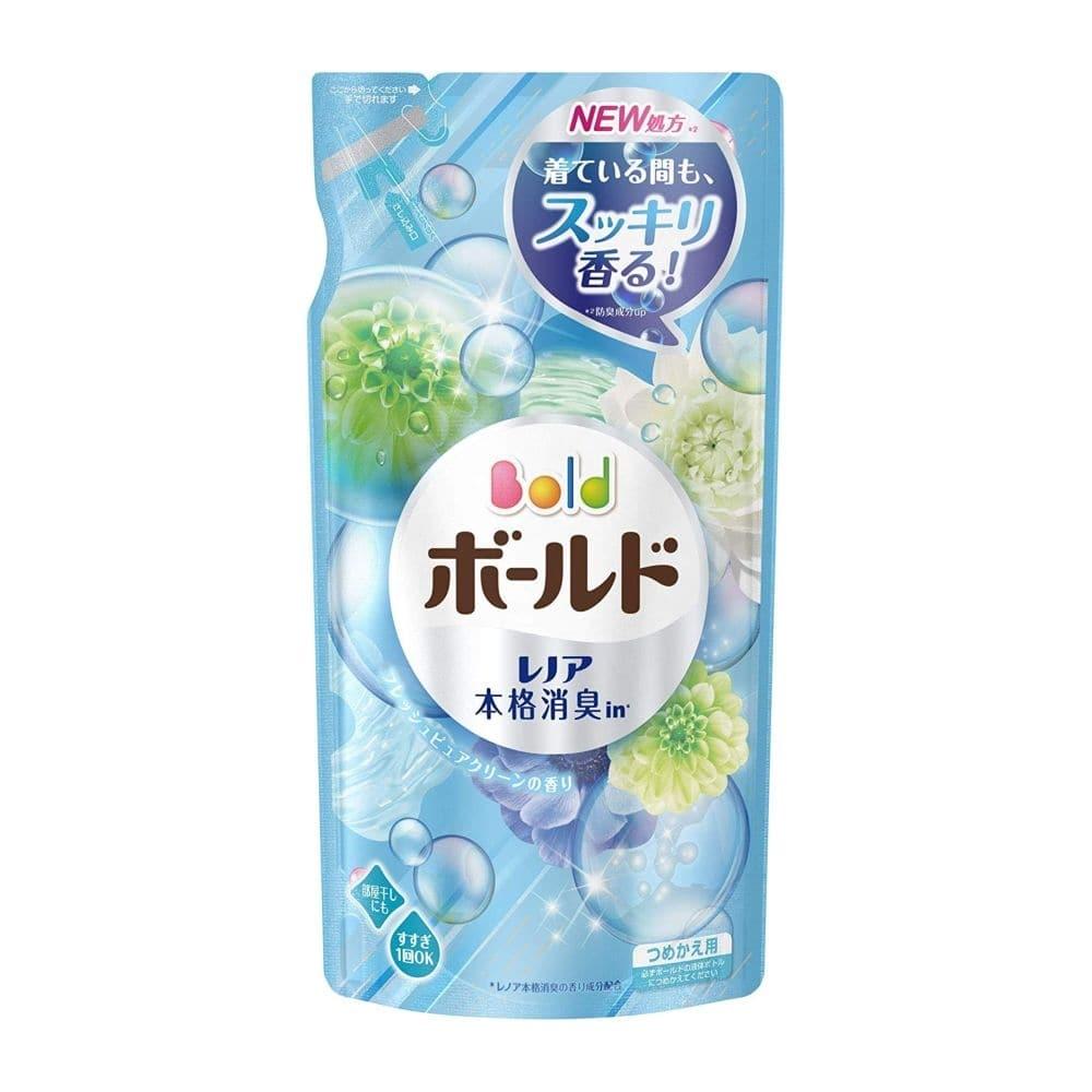 【数量限定】P&G ボールド 洗濯洗剤 液体 フレッシュピュアクリーンの香り 詰替 715g