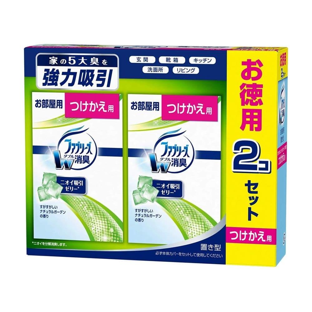 P&G お部屋の置き型 ファブリーズ すがすがしいナチュラルガーデンの香り 付替用2個パック 130g×2 芳香剤