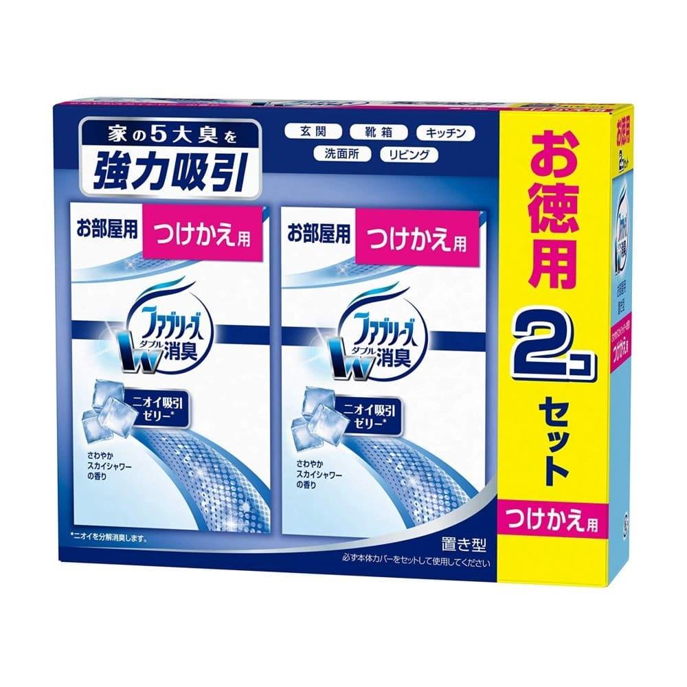 P&G お部屋の置き型 ファブリーズ さわやかスカイシャワーの香り 付替用2個パック 130g×2 芳香剤