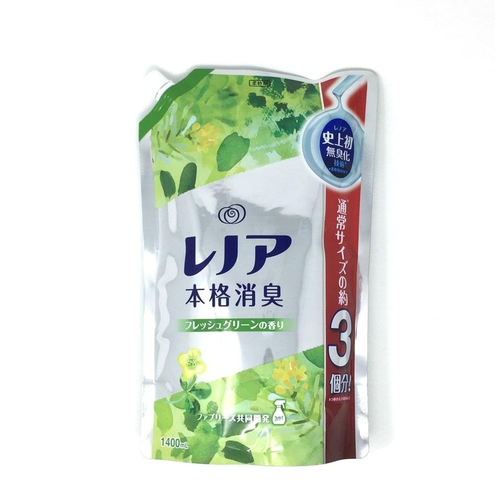 【数量限定】P&G レノア本格消臭 Fグリーン 超特大 1400ml