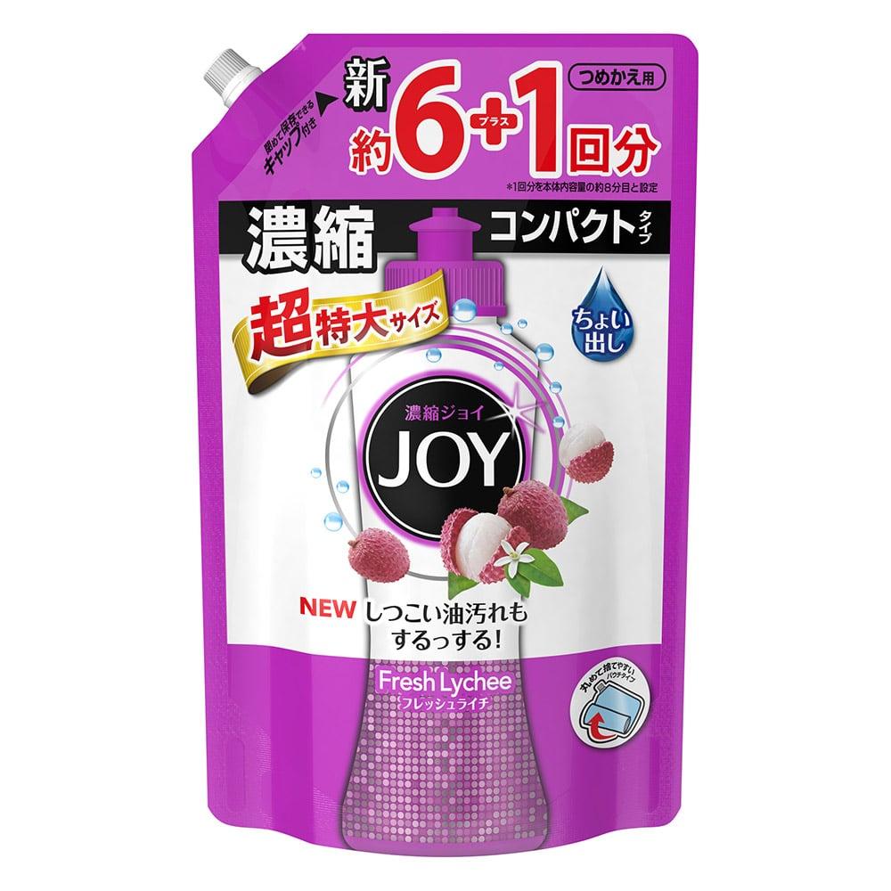 P&G ジョイ コンパクト フレッシュライチの香り 超特大 1,065ml 食器洗剤