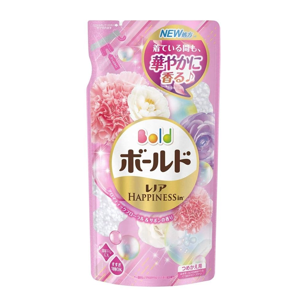 【数量限定】P&G ボールド 香りのサプリインジェル フローラル&サボンの香り 詰替用 715g 洗濯洗剤