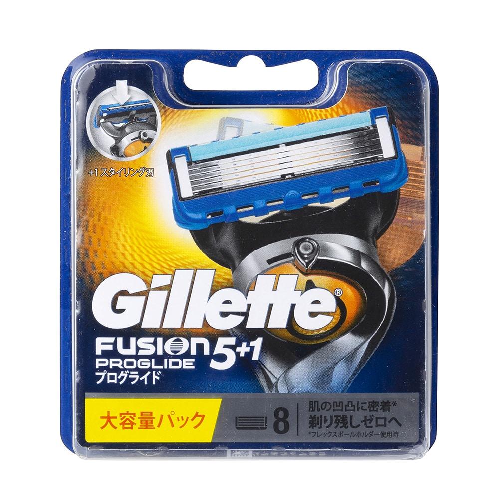 P&G ジレット プログライド フレックスボール マニュアル 替刃8個入 カミソリ