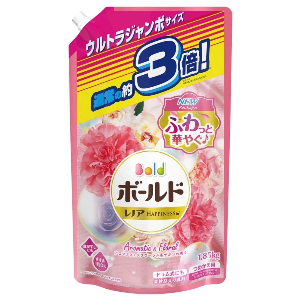P&G ボールド 洗濯洗剤 液体 アロマティックフローラル&サボンの香り 詰替 ウルトラジャンボ 1850g