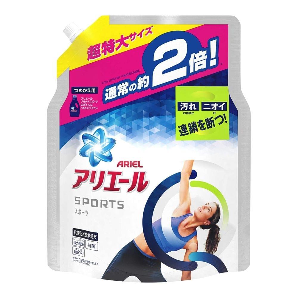 P&G アリエール イオンパワージェル プラチナスポーツ 詰替 1.34kg