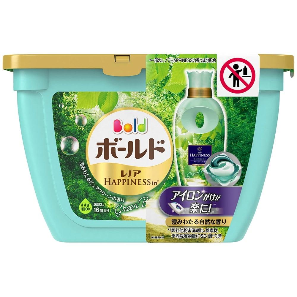P&G ボールドジェルボール ユニセックス ピュアクリーンの香り 本体 16個