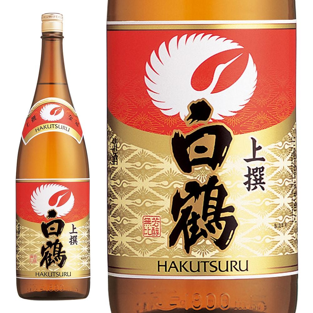 白鶴酒造 白鶴 上撰 白鶴金冠 瓶1.8l [1870]