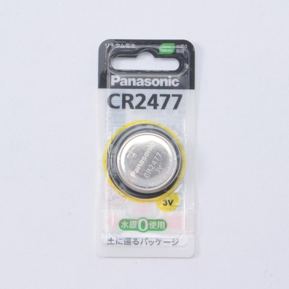 パナソニック ボタン電池CR-2477