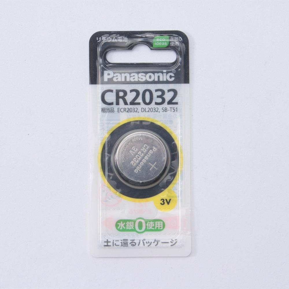 パナソニック リチウムコイン電池CR2032P