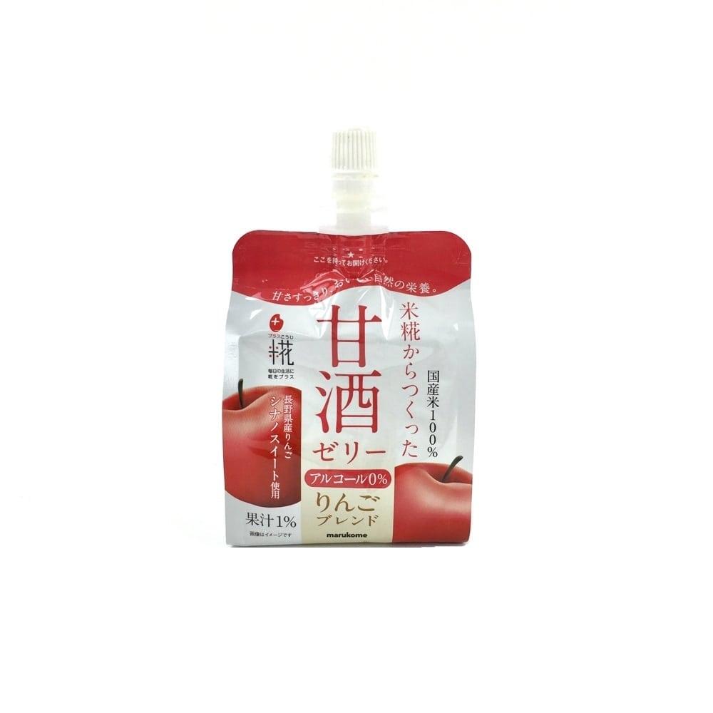プラス糀 米糀の甘酒ゼリー りんご(160g)