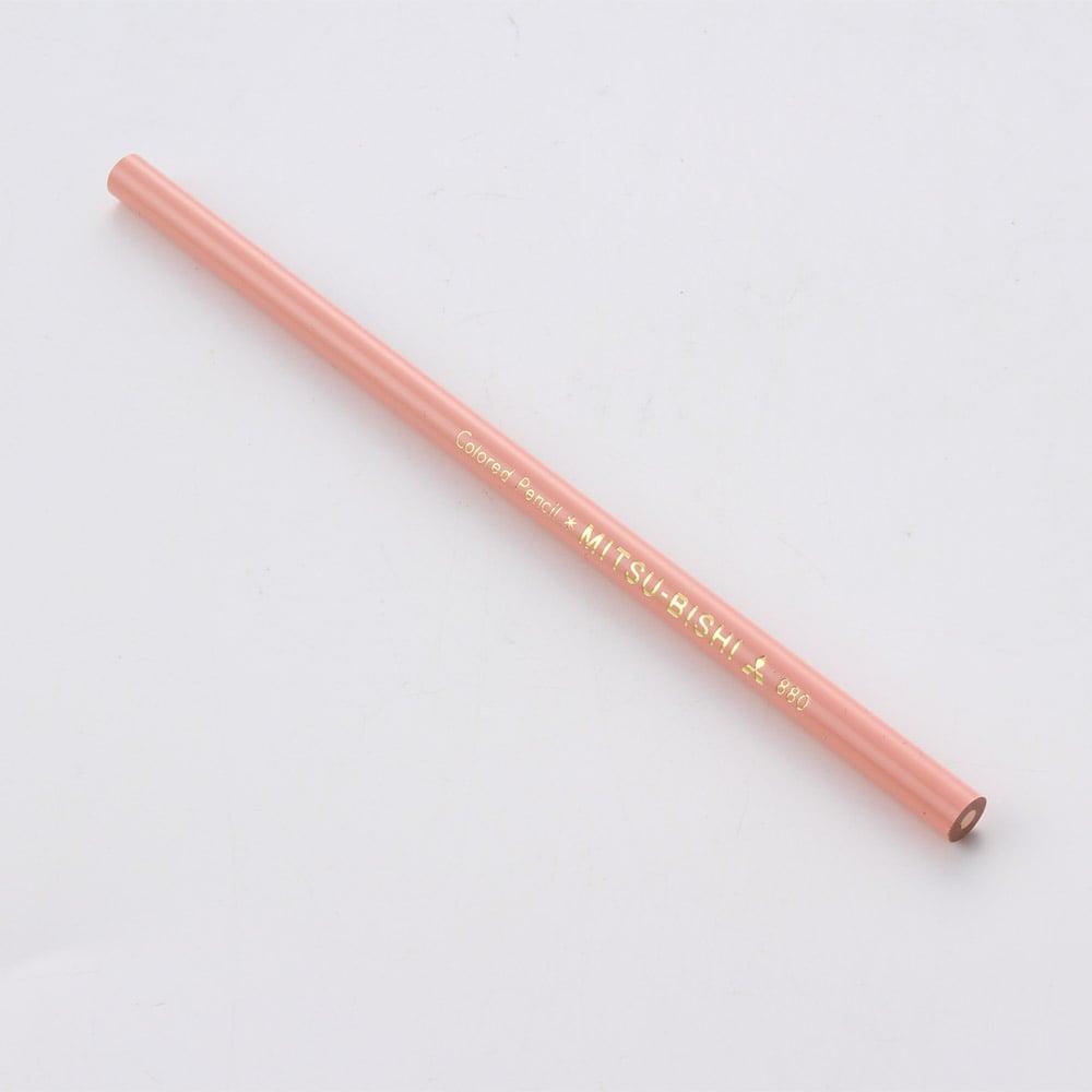 三菱 色鉛筆 単品 No.880(薄橙)