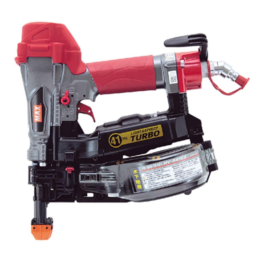 マックス 高圧接続ターボドライバー HV-R41G3