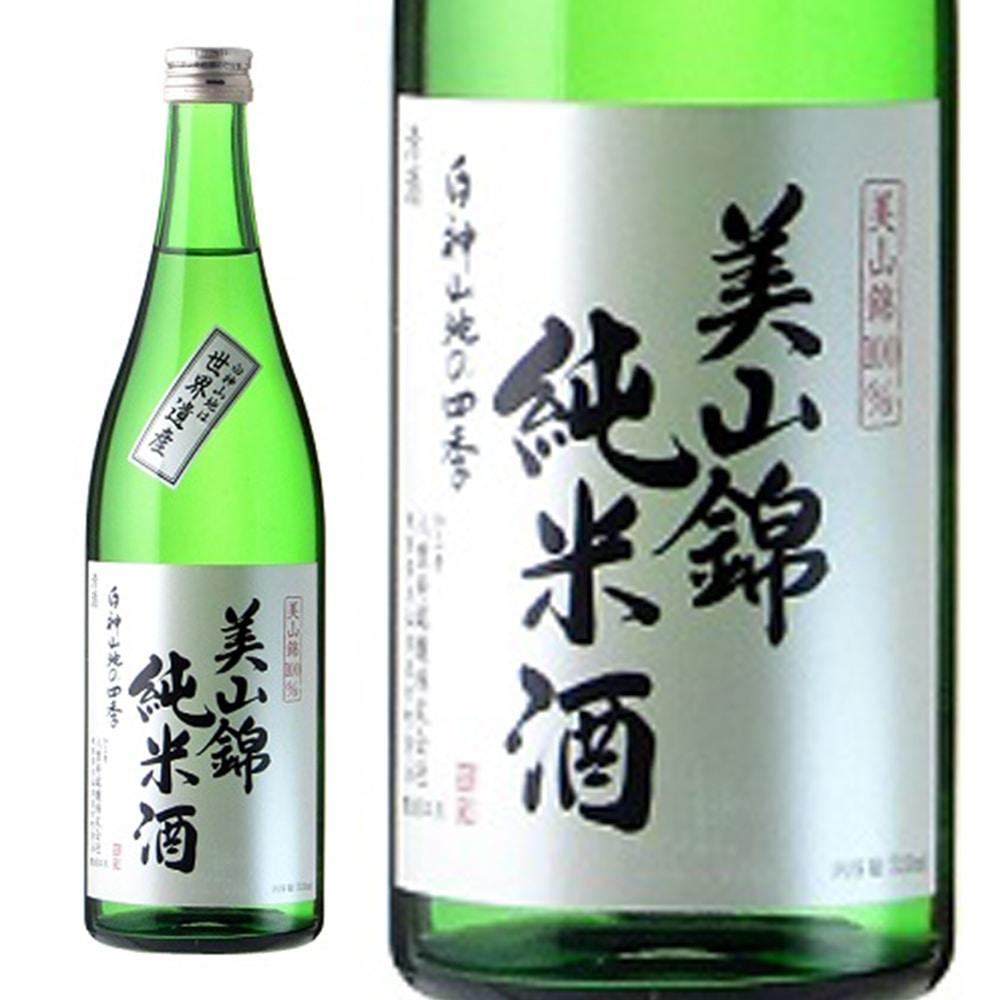 八重寿 美山錦純米酒 白神山地の四季 720ml【別送品】
