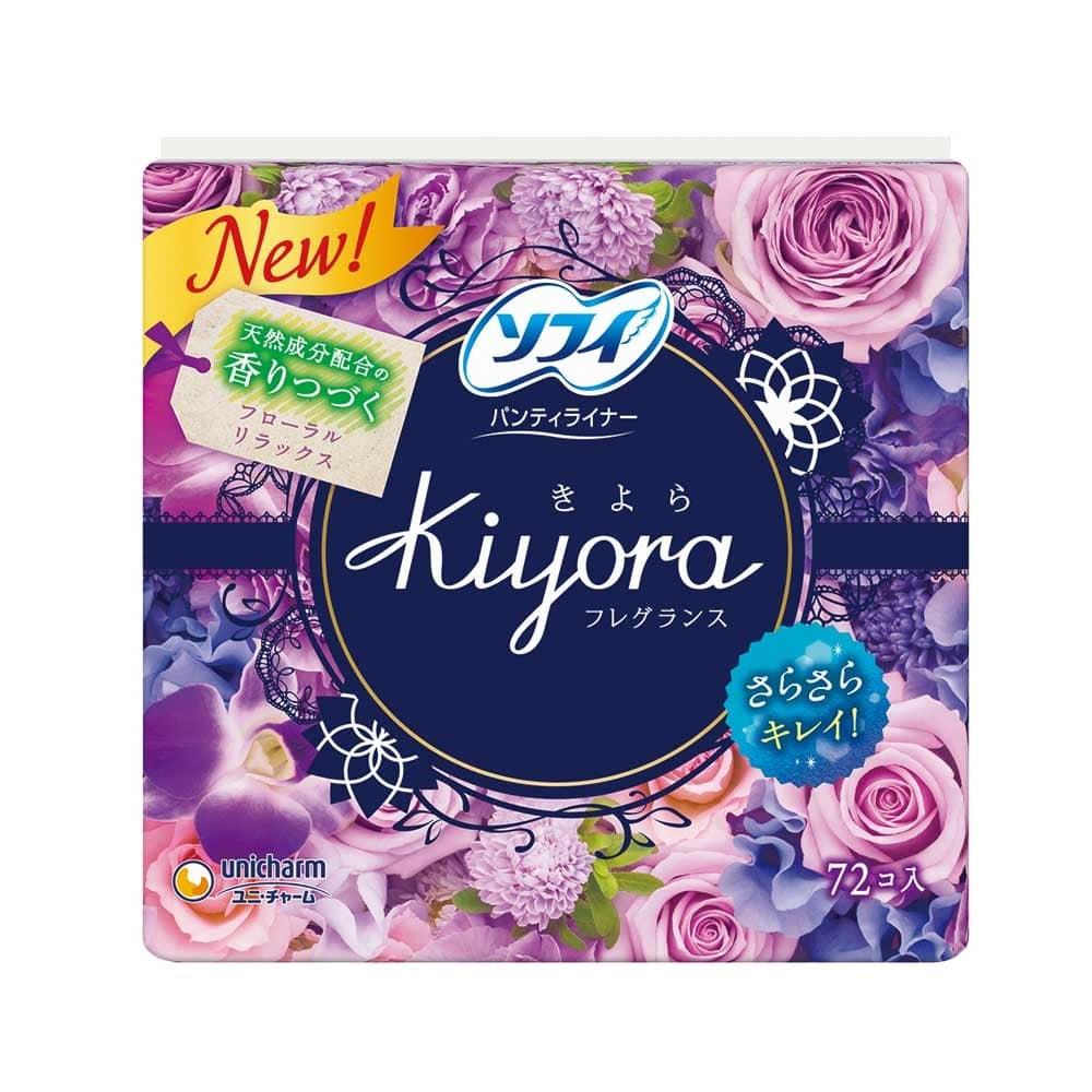 ユニ・チャーム ソフィ Kiyora フレグランス フローラルリラックスの香り 72枚