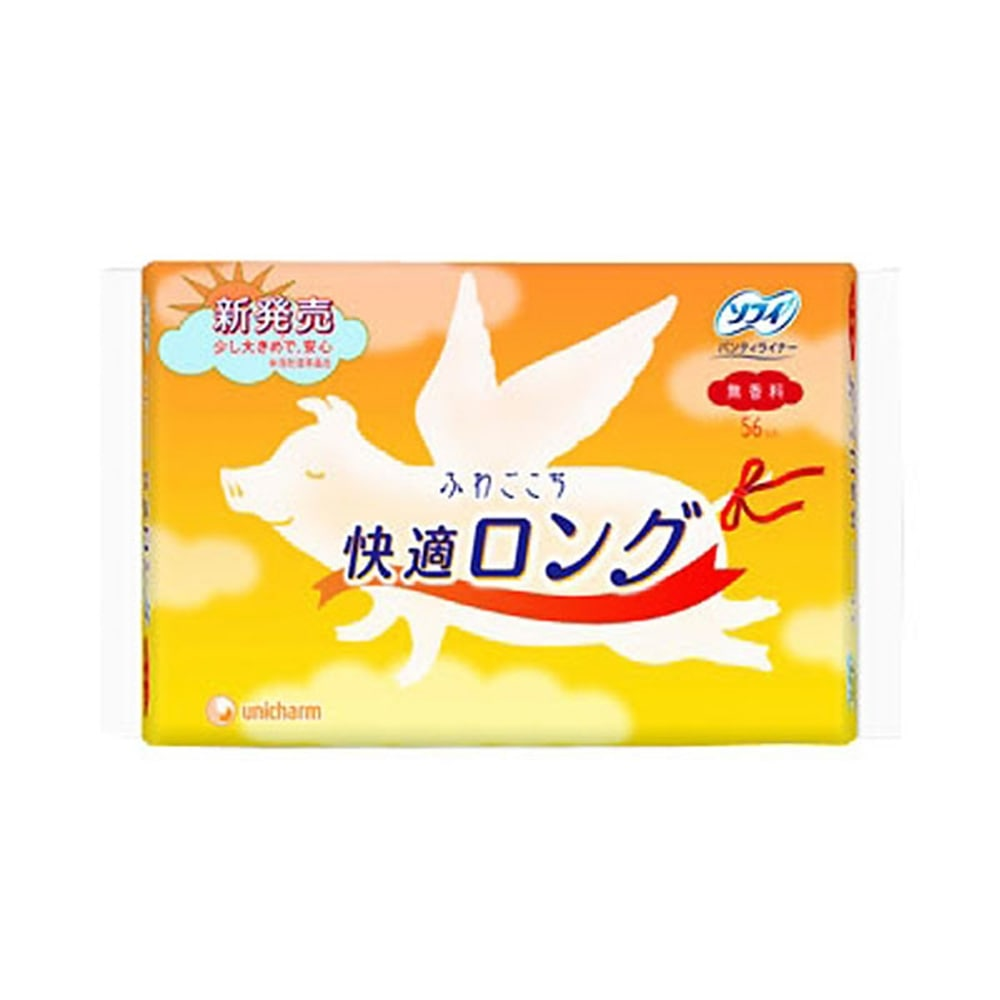 ユニ・チャーム ソフィ ふわごこち 快適ロング 56枚