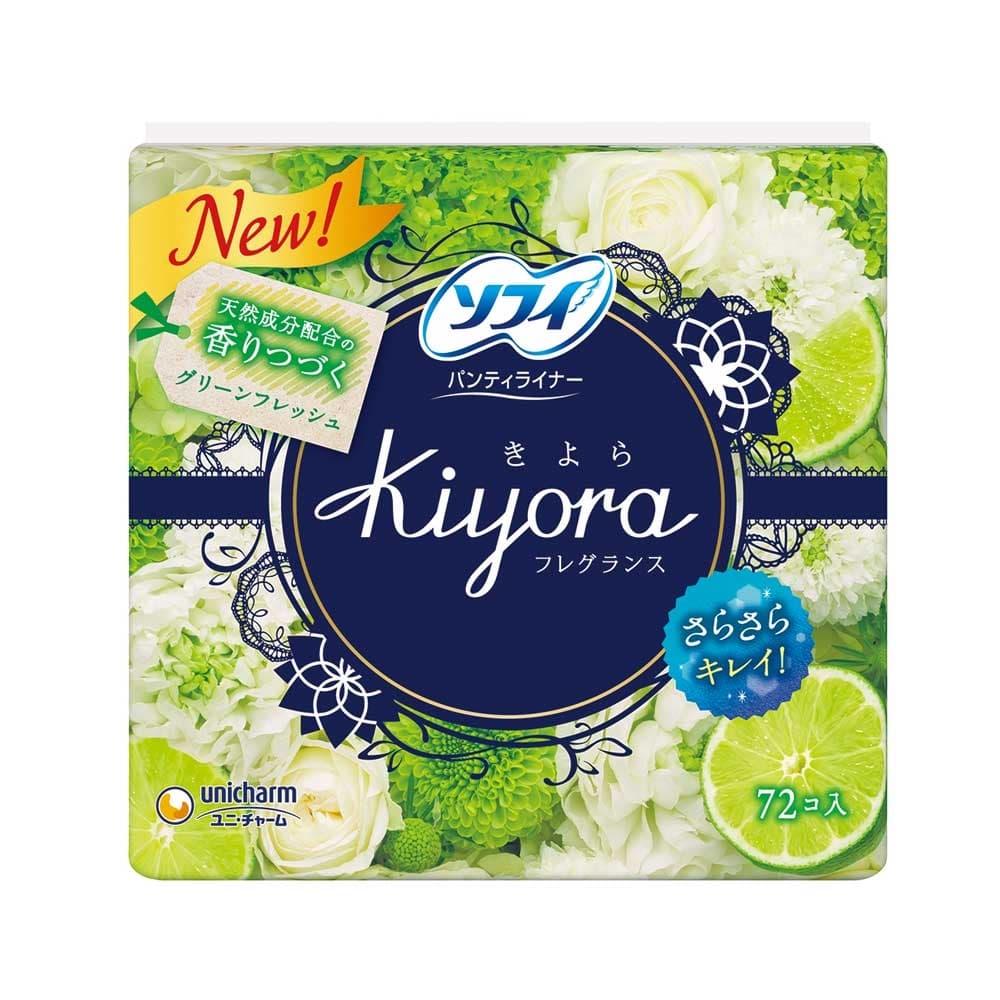 ユニ・チャーム ソフィ Kiyora フレグランス グリーンフレッシュの香り 72枚