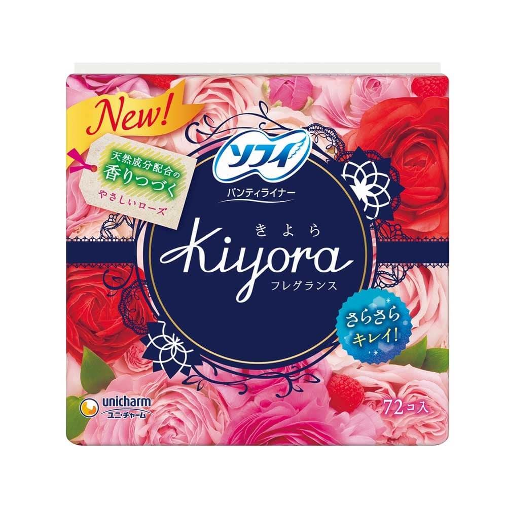 ユニ・チャーム ソフィ Kiyora フレグランス やさしいローズの香り 72枚