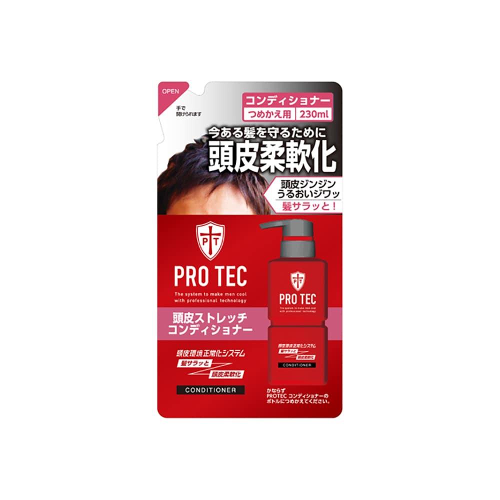 ライオン PRO TEC 頭皮ストレッチコンディショナー 詰替用 230g
