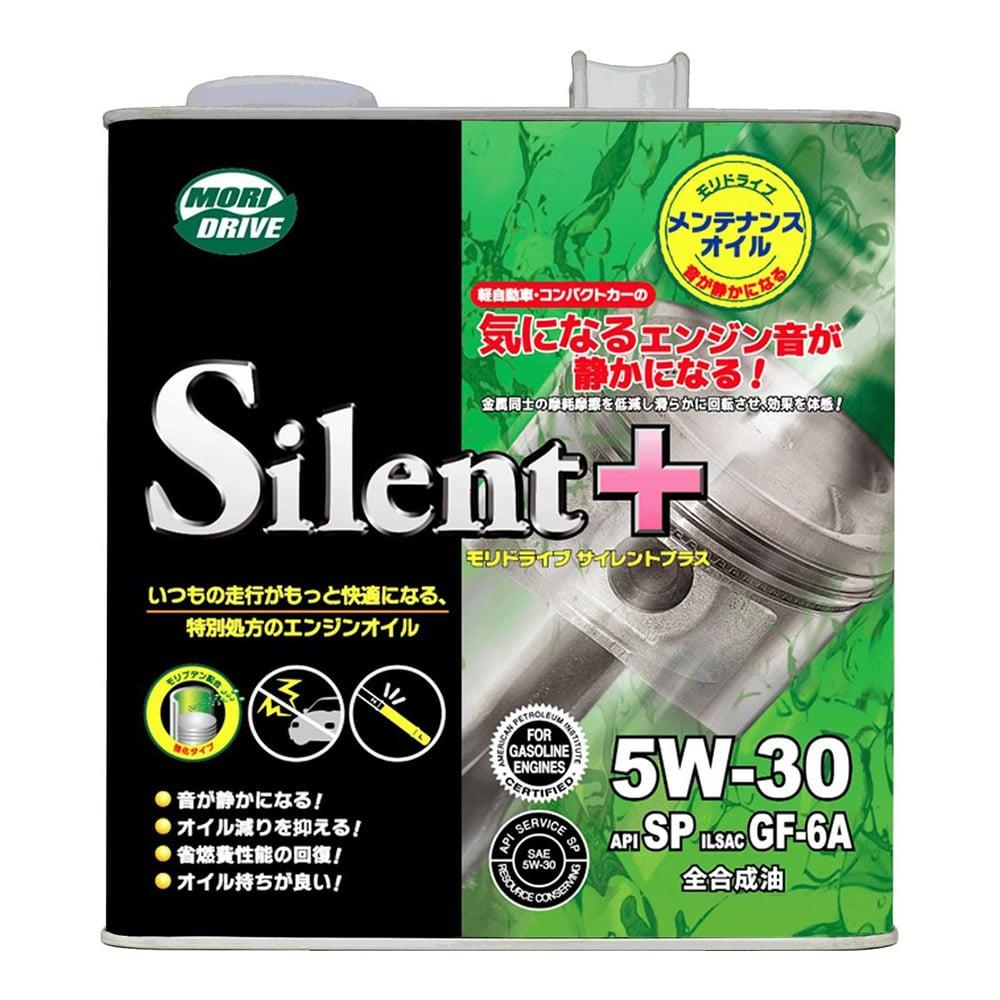 【店舗限定】ルート産業 モリドライブ サイレントプラス 5W-30 3L