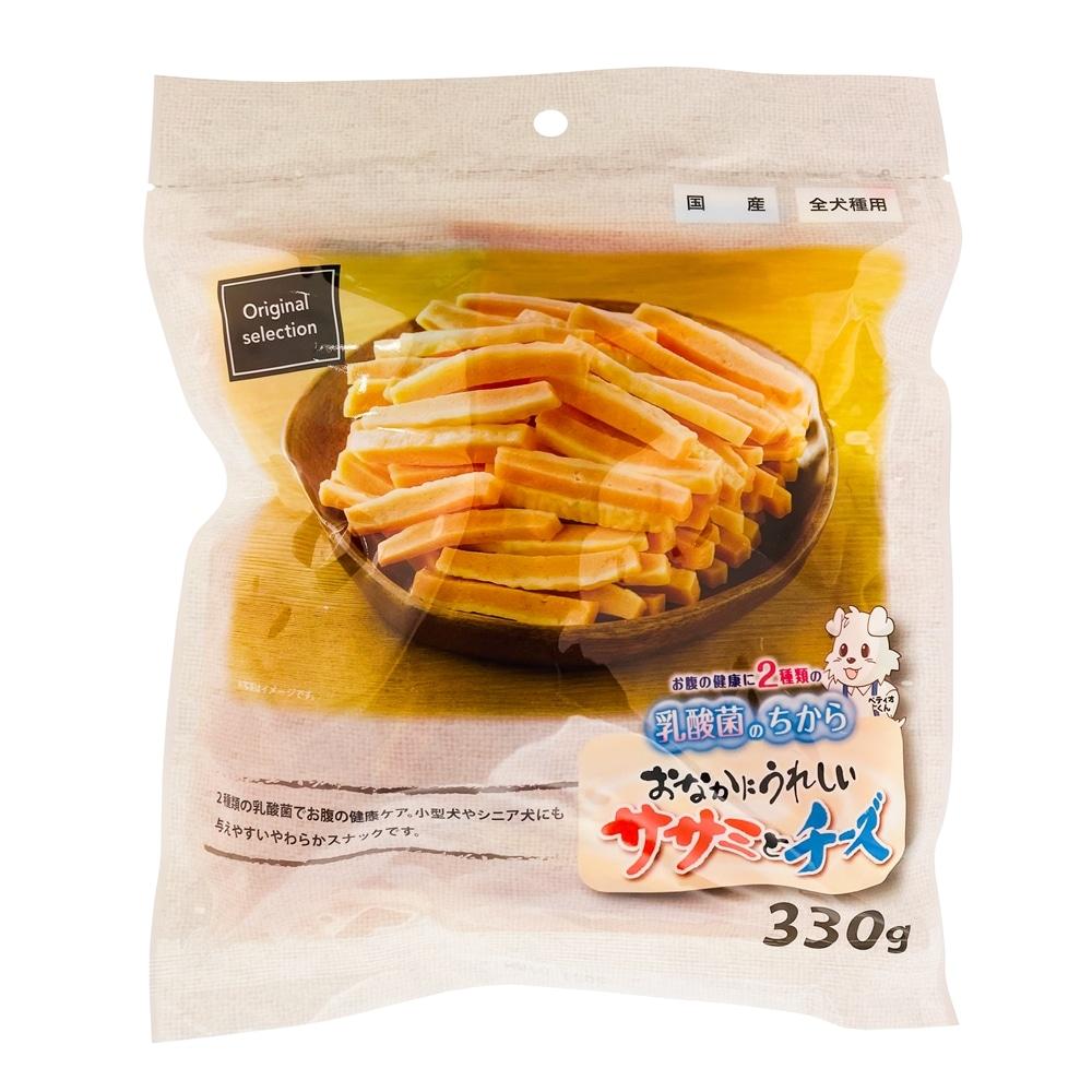 オリジナルセレクション おなかにうれしい ササミとチーズ 330g