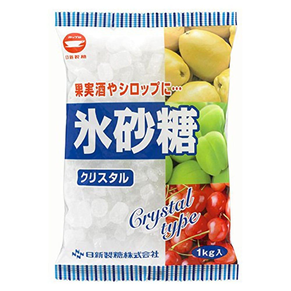 日新製糖 カップ印 氷砂糖 クリスタル 1Kg