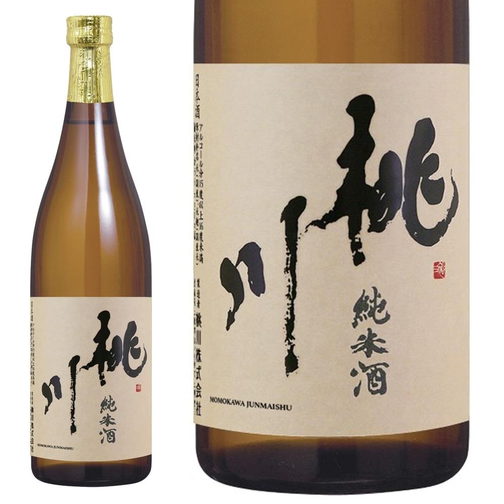 桃川 純米酒 720ml【別送品】