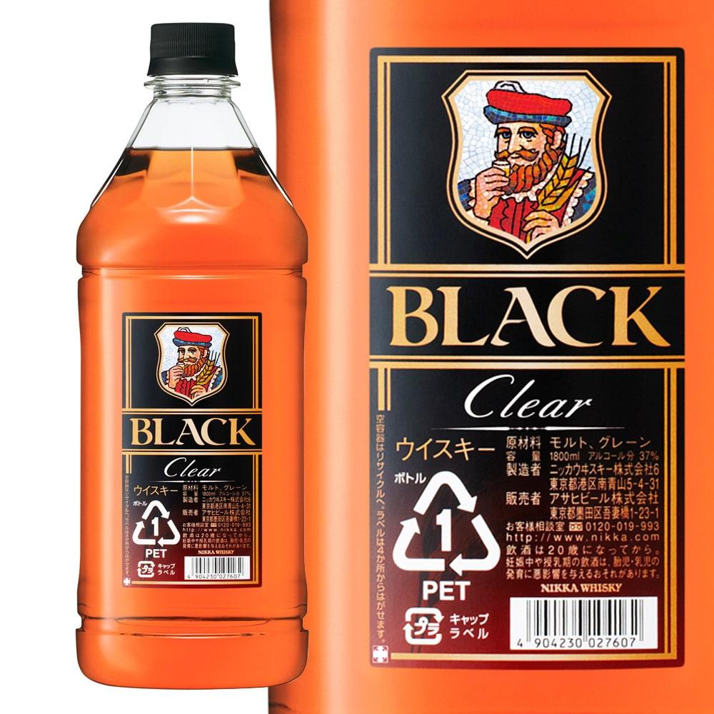 ブラックニッカ クリア 1800ml ペットボトル
